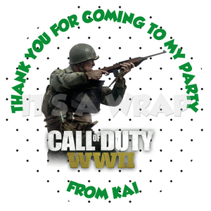 Call of Duty Sweet Cone Stickers