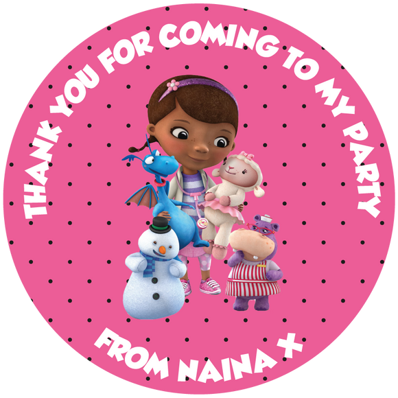 Doc McStuffins Sweet Cone Stickers