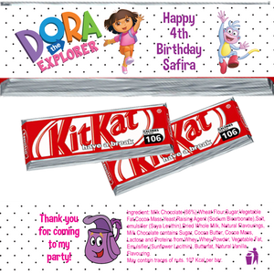 Dora the Explorer KitKat Wrappers