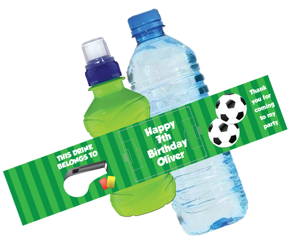 Football Bottle Wrappers