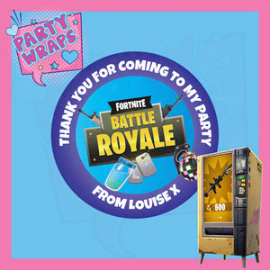 Fortnite Sweet Cone Stickers