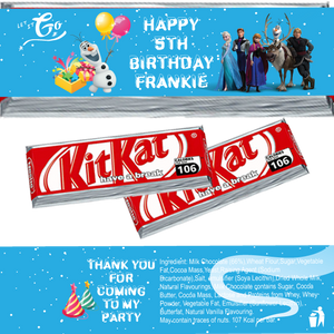 Frozen KitKat Wrappers