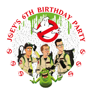 Ghostbusters Party Box Stickers