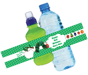 Hungry Caterpillar Bottle Wrappers