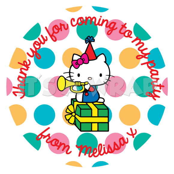 Hello Kitty Sweet Cone Stickers