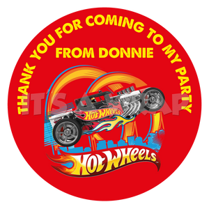 Hot Wheels Sweet Cone Stickers