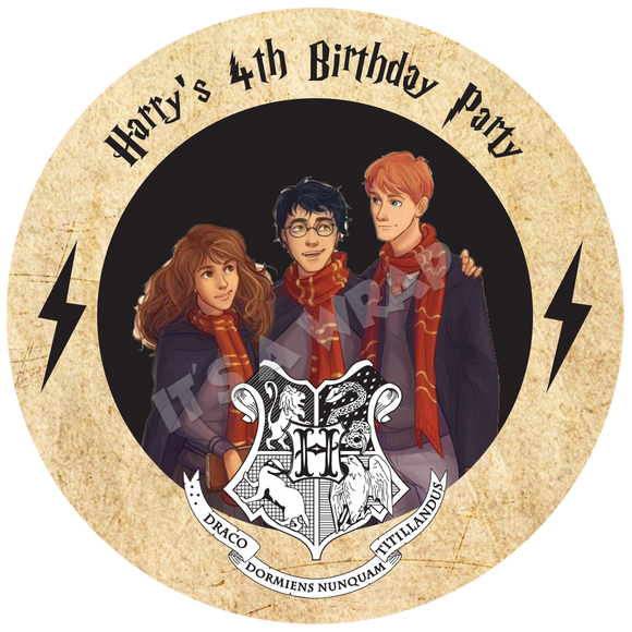 Harry Potter Party Box Stickers