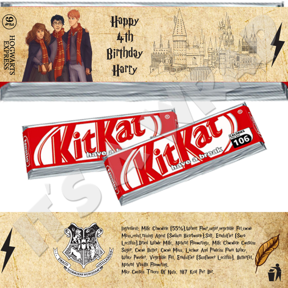 Harry Potter KitKat Wrappers