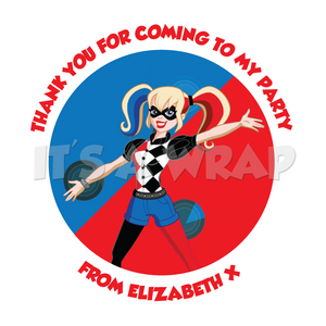 Harley Quinn Sweet Cone Stickers