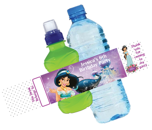 Princess Jasmine Bottle Wrappers