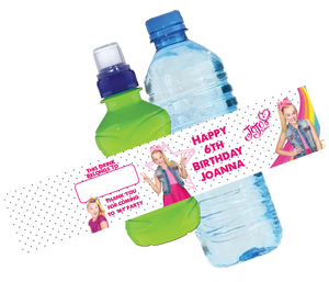 Jojo Siwa Bottle Wrappers