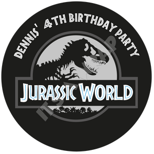 Jurassic World Party Box Stickers