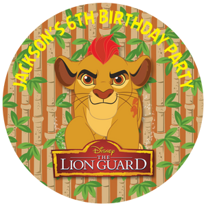 Lion Guard Party Box Stickers