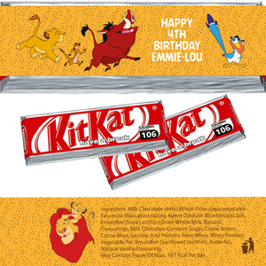 Lion King KitKat Wrappers