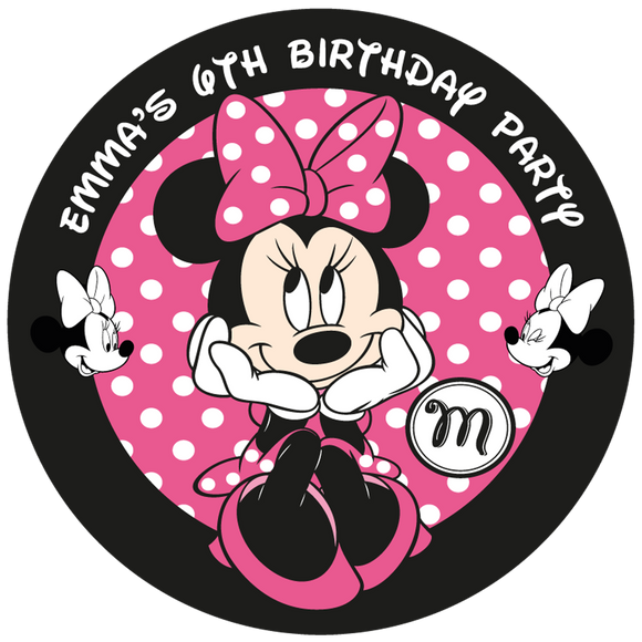 Minnie Mouse Party Box Stickers