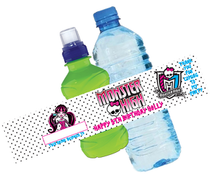 Monster High Bottle Wrappers