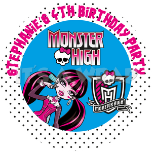 Monster High Party Box Stickers