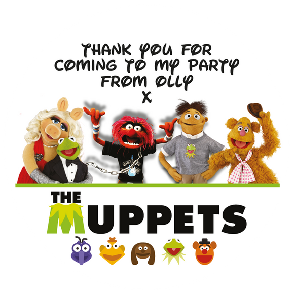 The Muppets Party Box Stickers