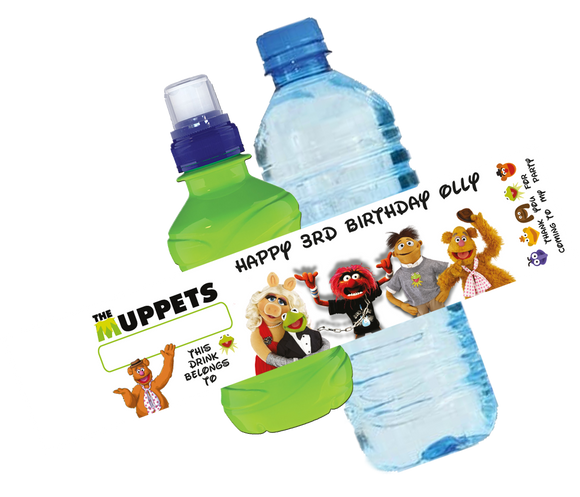 The Muppets Bottle Wrappers
