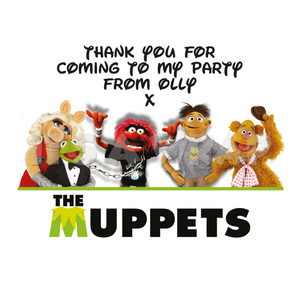The Muppets Sweet Cone Stickers