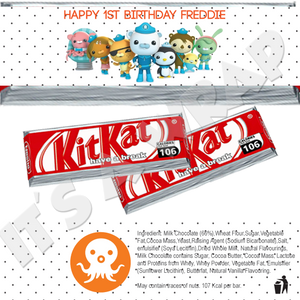 Octonauts KitKat Wrappers