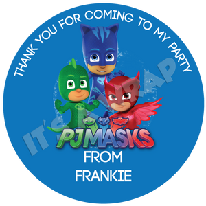 PJ Masks Sweet Cone Stickers