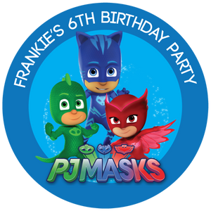 PJ Masks Party Box Stickers