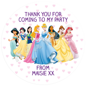 Disney Princesses Sweet Cone Stickers