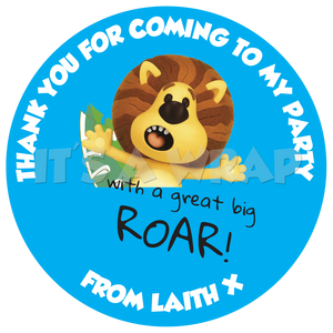 Raa Raa Lion Sweet Cone Stickers