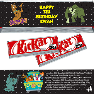 Scooby Doo KitKat Wrappers