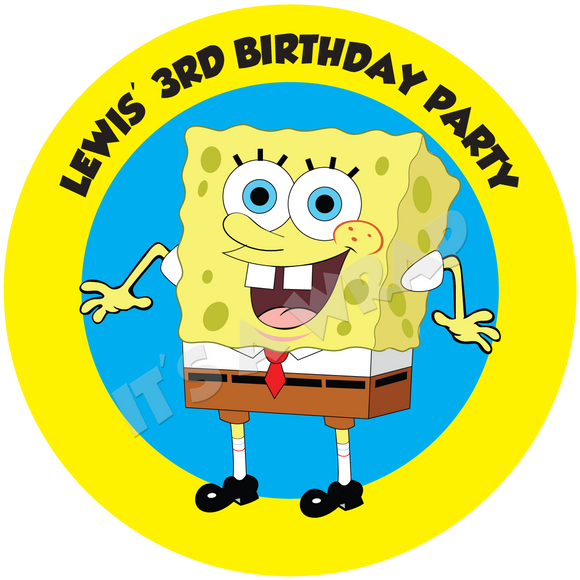 Spongebob Squarepants Party Box Stickers