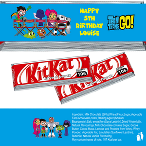Teen Titans KitKat Wrappers