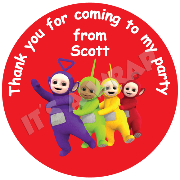 Teletubbies Sweet Cone Stickers