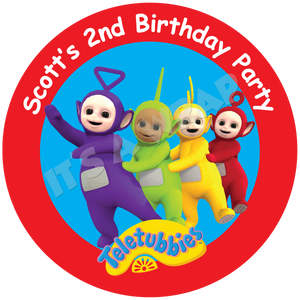 Teletubbies Party Box Stickers