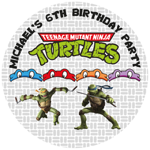 TMNT Party Box Stickers