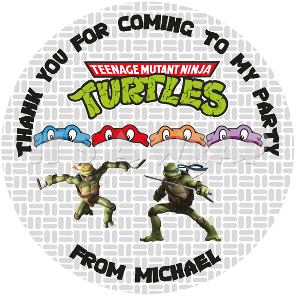TMNT Sweet Cone Stickers
