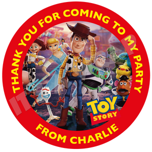Toy Story Party Box Stickers