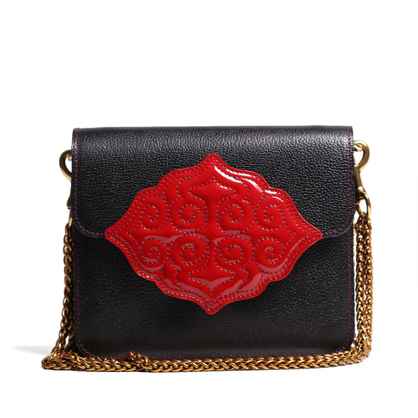 Lacquer Shoulder Bag