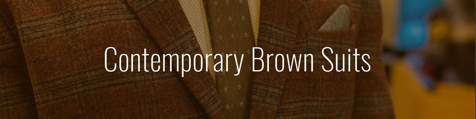 Contemporary Brown Suits