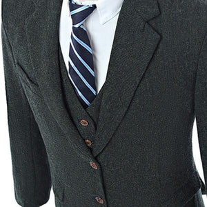 The Bercy: Dark Charcoal Suit