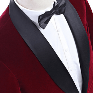 The Chevalier: Red Velvet Suit