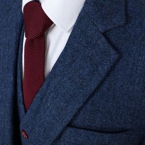 The Francesco: Blue Accented Suit