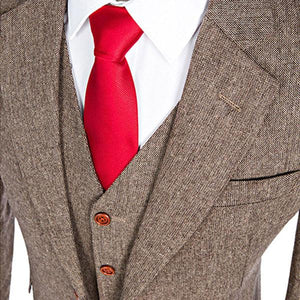 The Montmartre: Beige Brown Suit