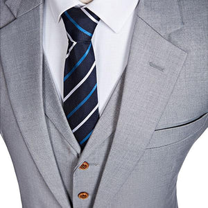 The Montpellier: Classic Grey Suit