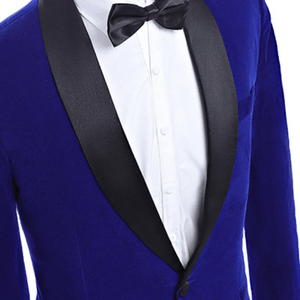 The Océan: Blue Velvet Suit