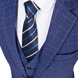 The Tireur d'Elite: Blue Check Suit