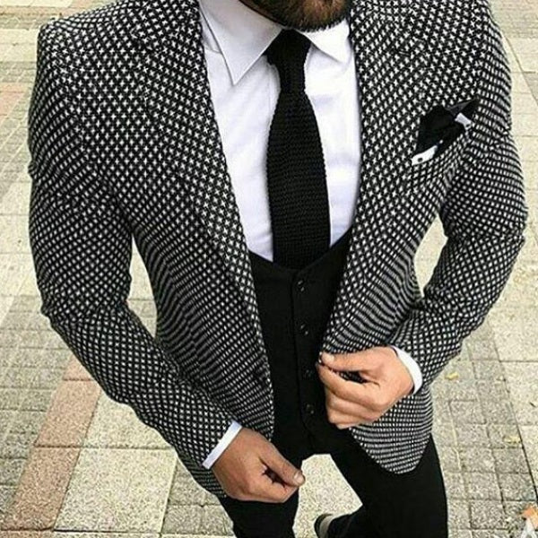 Thierry - Slim Fit 3 Piece Suit
