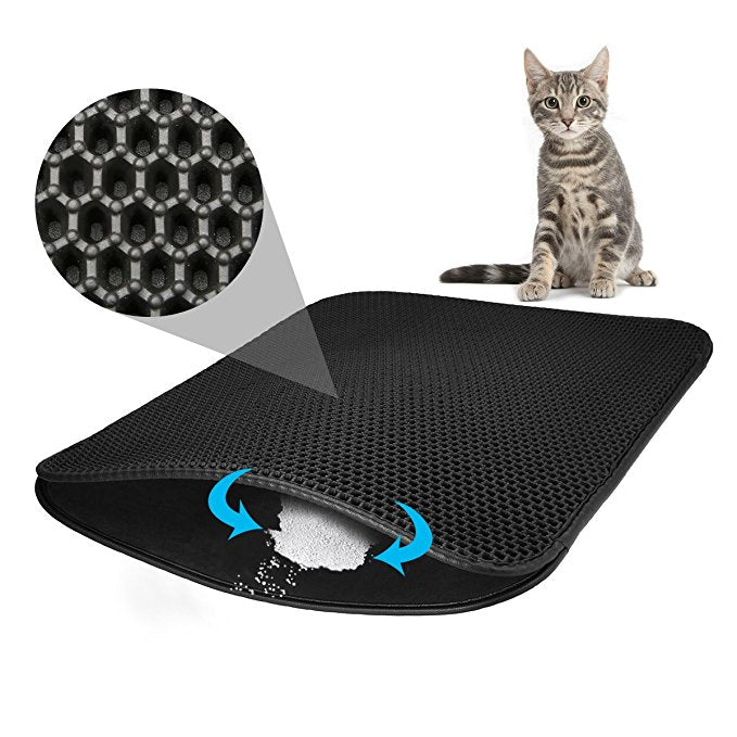 Magic Mat - Cat Litter Trapper with Waterproof Bottom Magic Mat - Cat Litter Trapper with Waterproof Bottom Cat Beds & Mats My SweetHome Store The Purr House- The Purr House