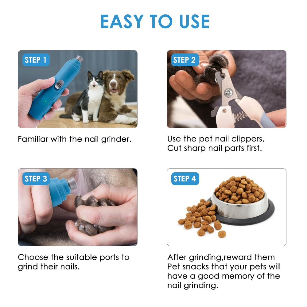 Purrfect Paw - Silent Trimming Kit for Cats