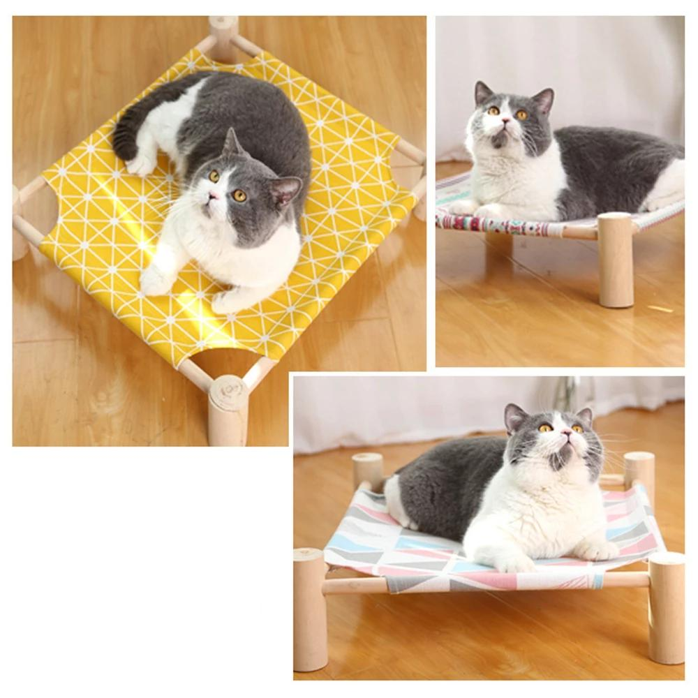 DIY Wooden Cat Hammock DIY Wooden Cat Hammock Cat Beds & Mats Pawaca House Store The Purr House- The Purr House
